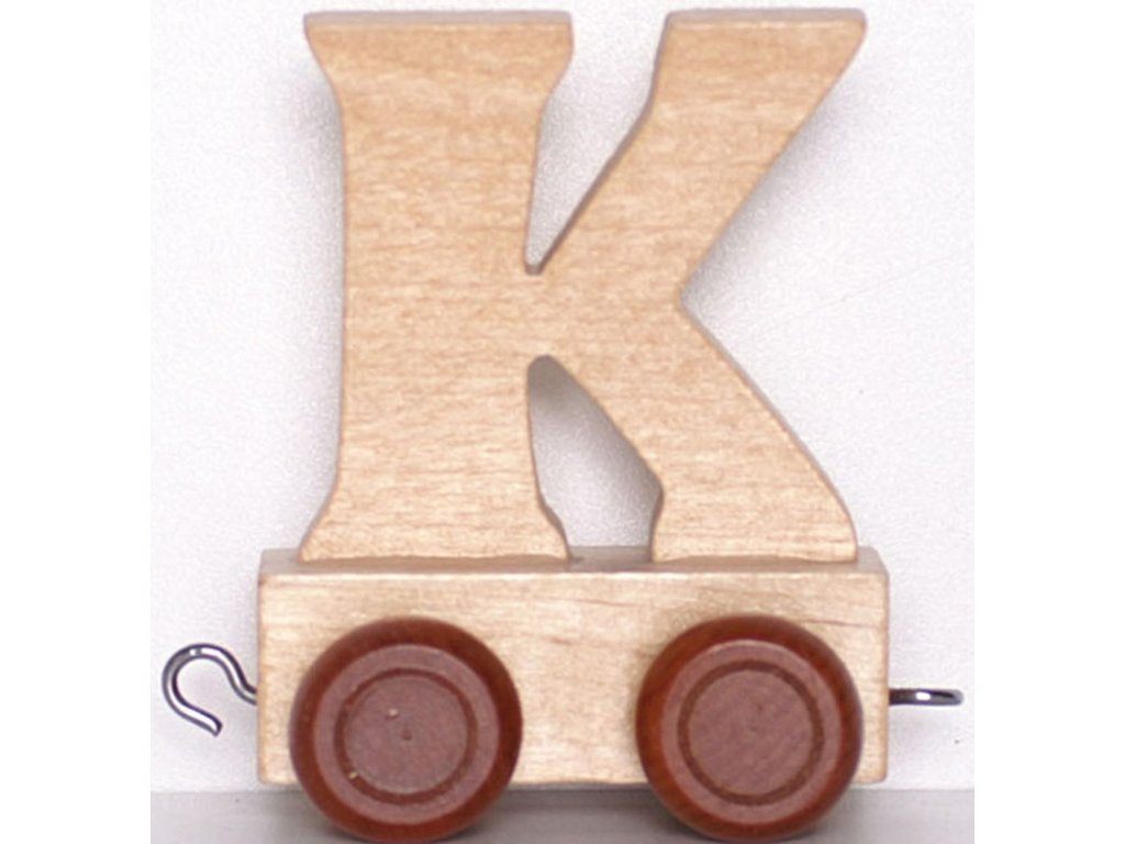 Písmenkový vláček K