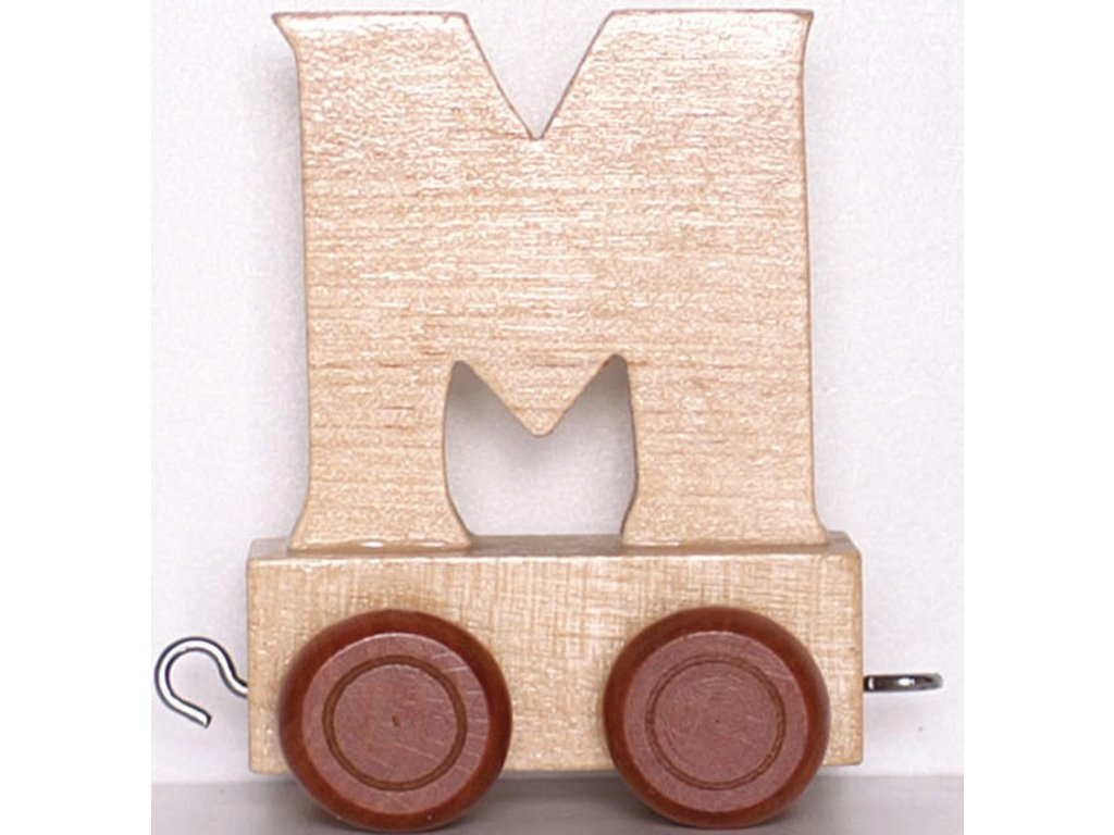 Písmenkový vláček M
