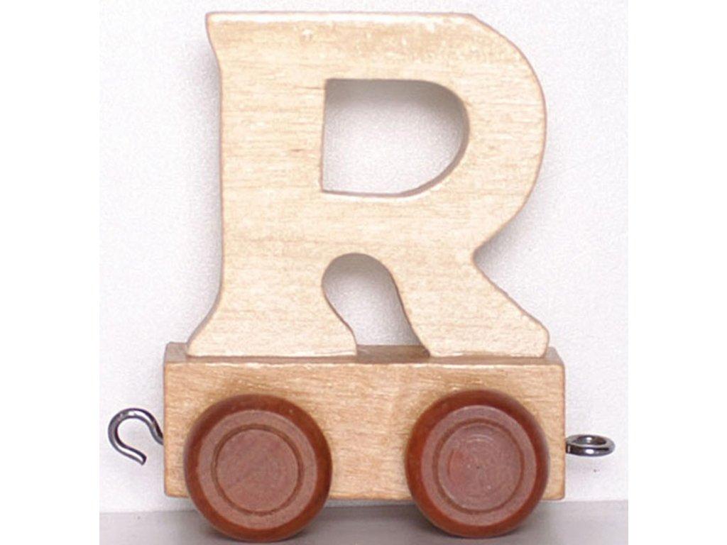 Písmenkový vláček R