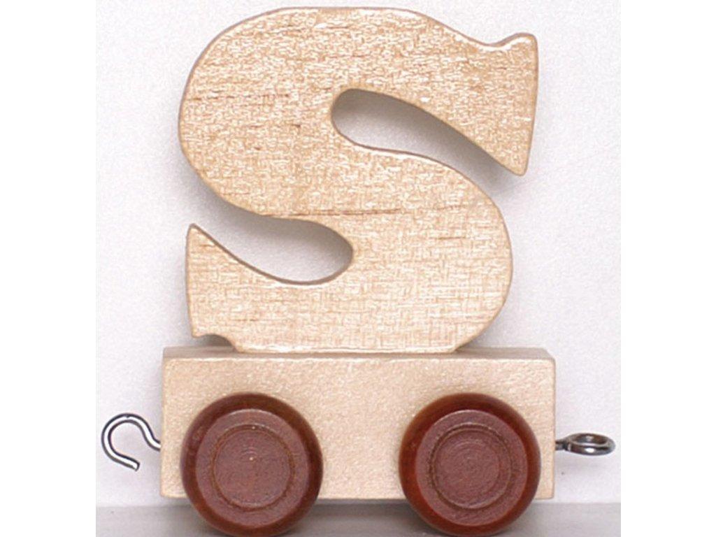 Písmenkový vláček S