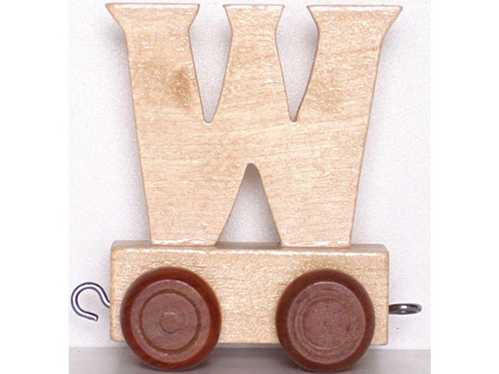 Písmenkový vláček W