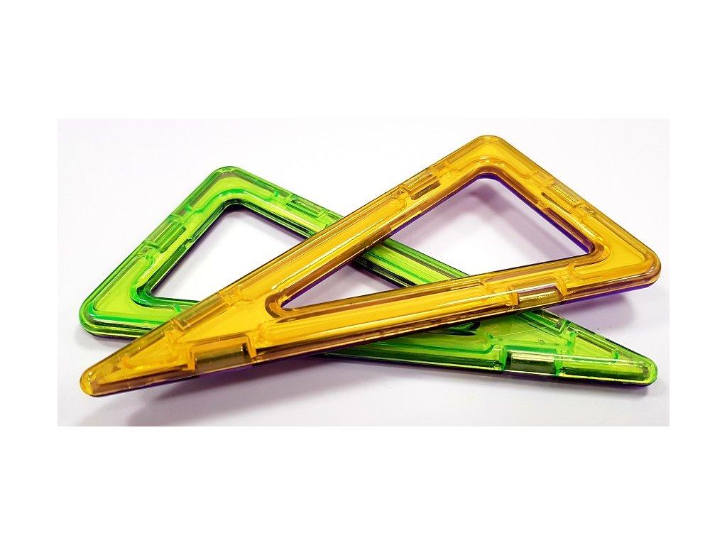 Magnetický rovnoramenný trojúhelník