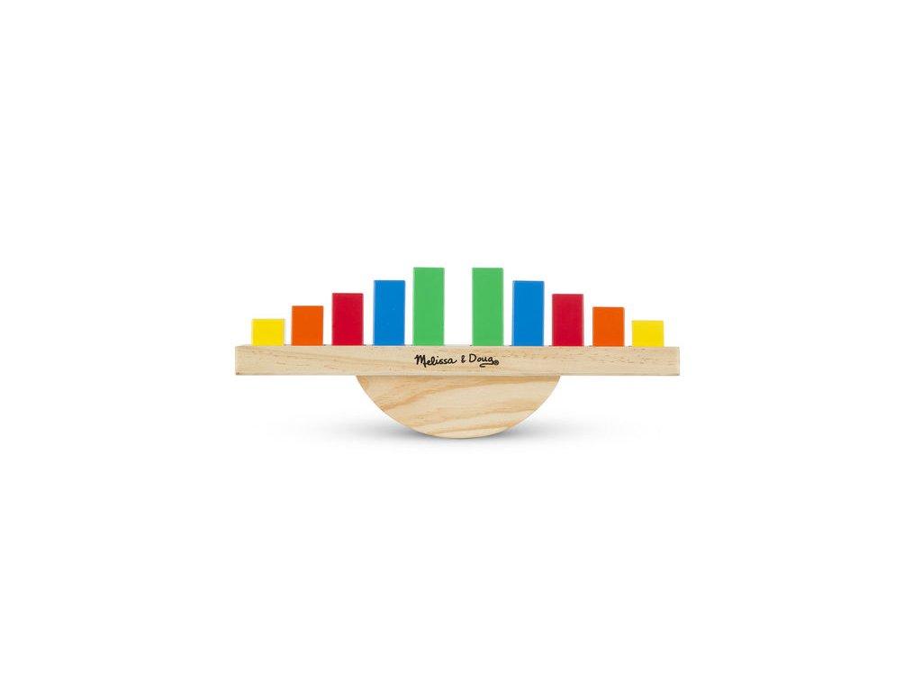 Duhová balanční hračka