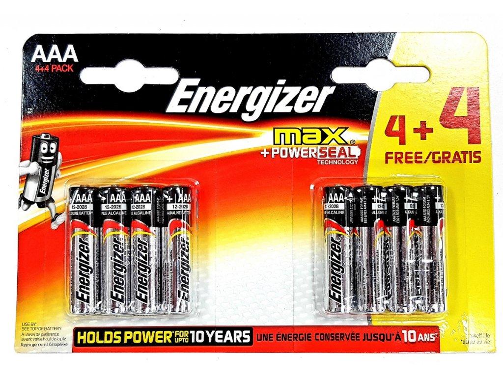 Energizer Alkaline Power AAA 8 ks