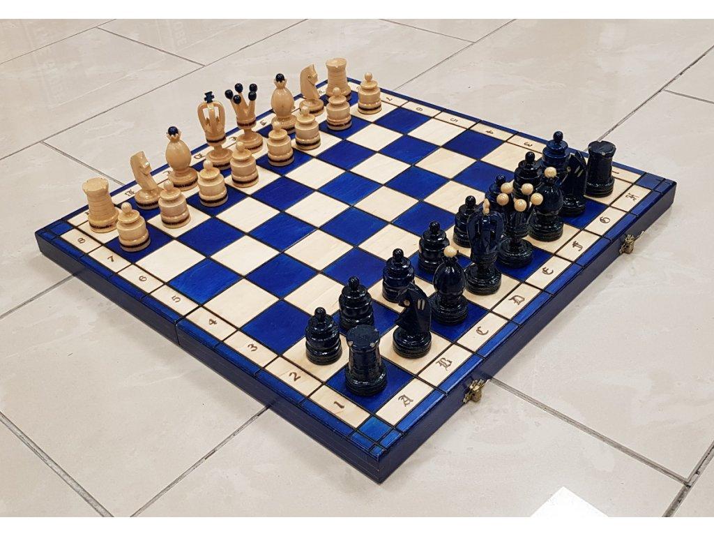 Masivní dřevěné šachy 50x50 cm