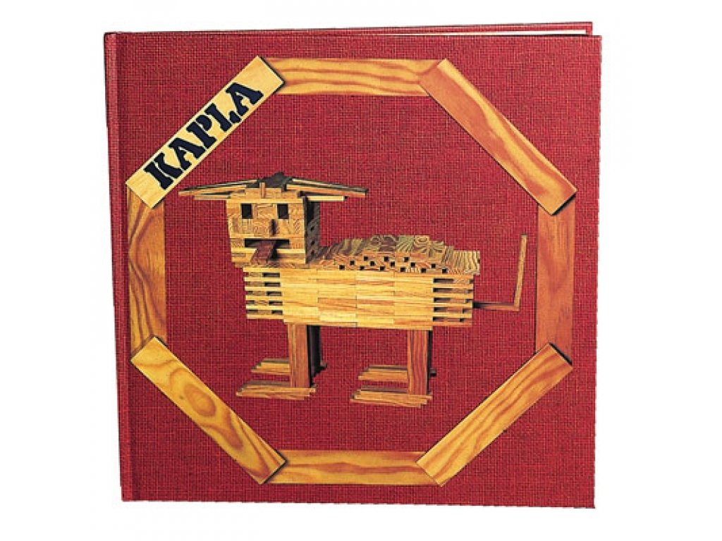 KAPLA Art Book 1 Red main 1