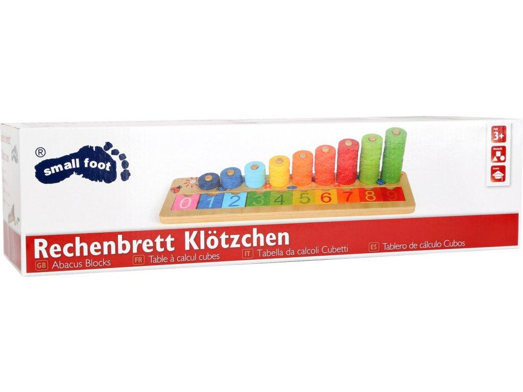 3405 Legler Rechenbrett Kloetzchen Verpackung