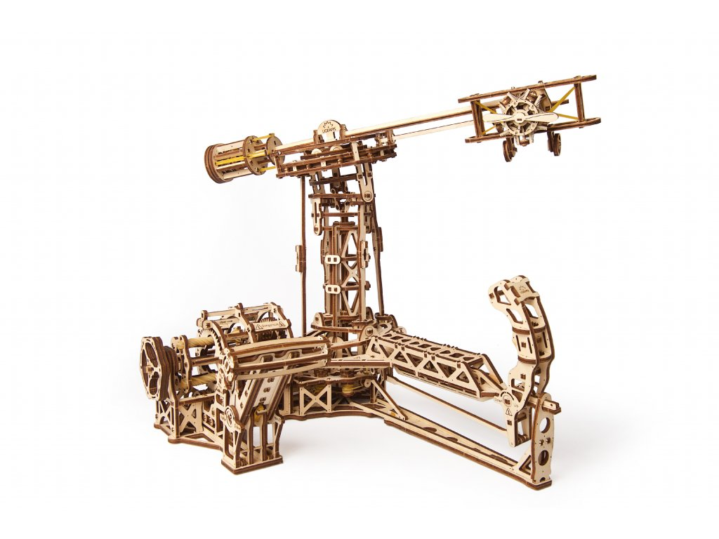 1 Ugears Aviator Model Kit Title