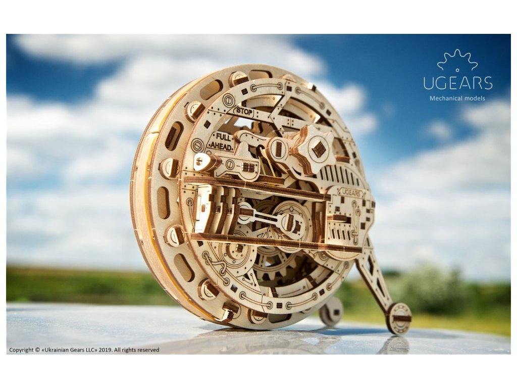 ugears monowheel mechanical model7 max 1000