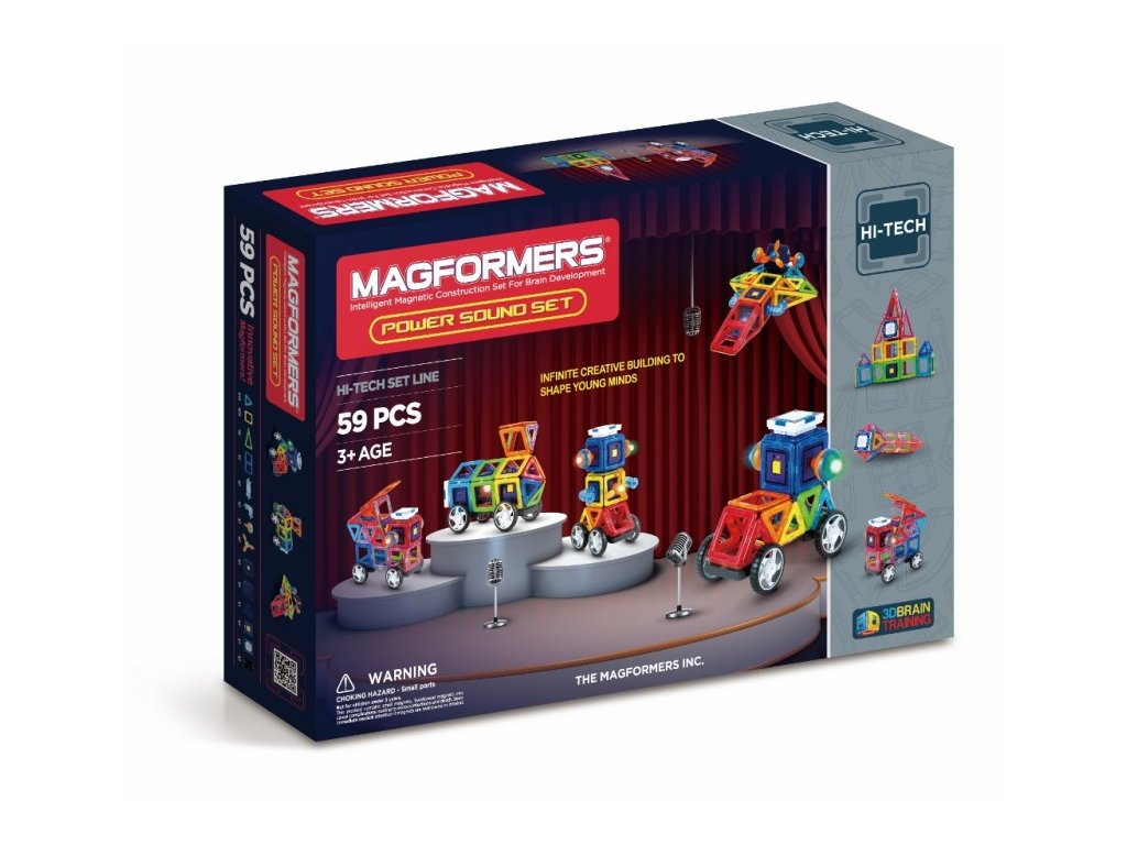 Magformers Power sound