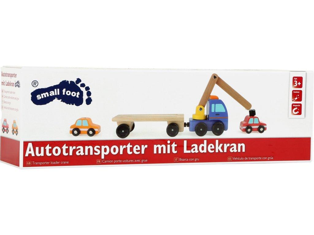 10104 autotransporter mit ladekran verpackung
