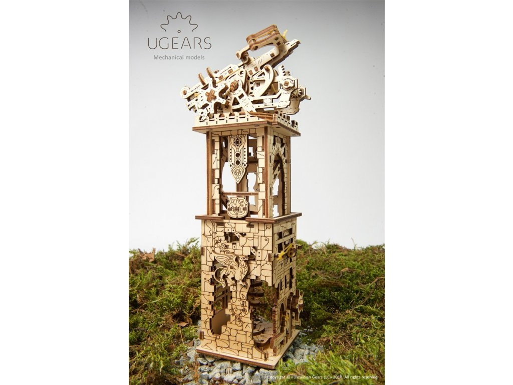 7 Ugears Archballista Tower Model DSC2232 6 max 1000