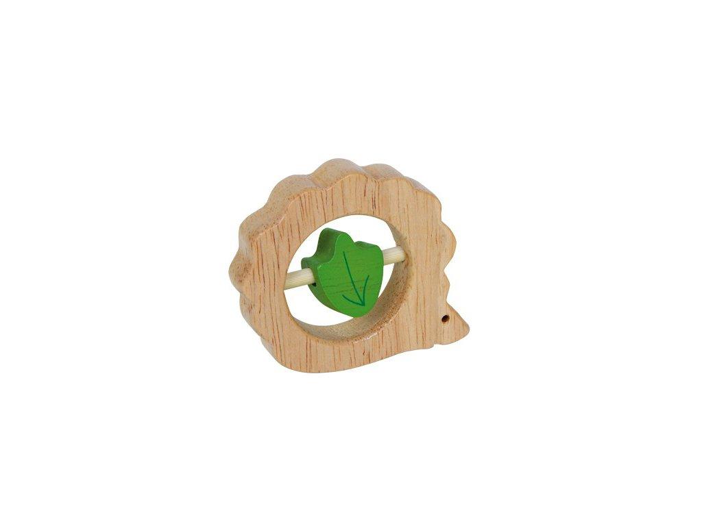 Dřevěné kousátko Ježek