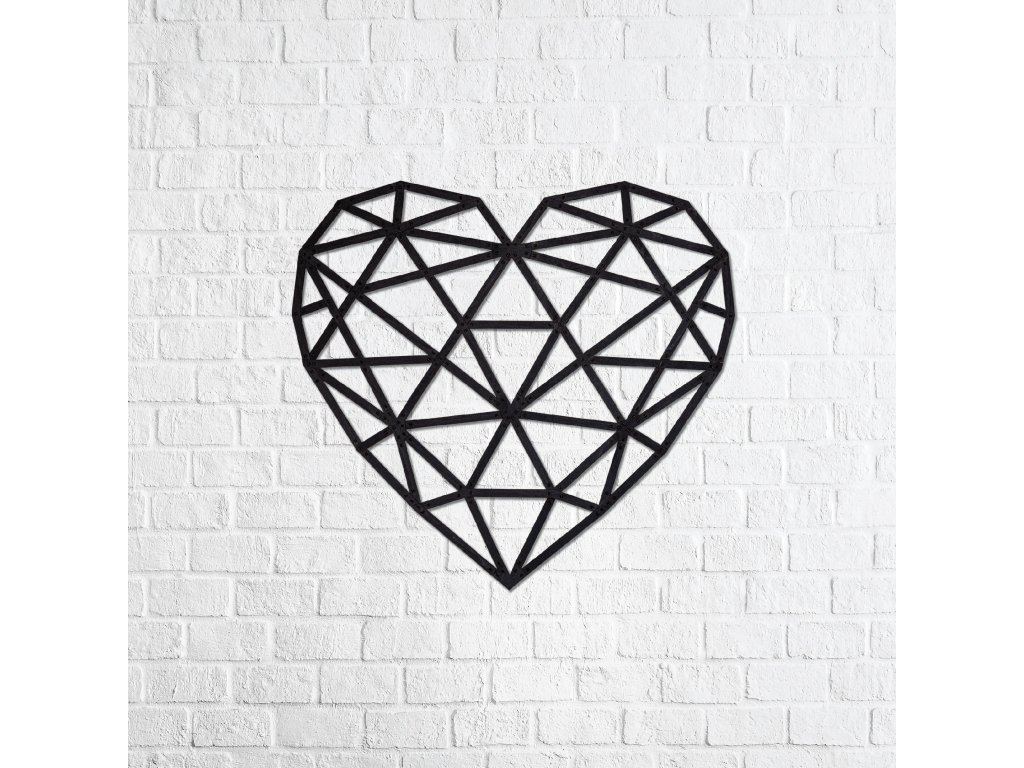 Nástěnné puzzle Srdce