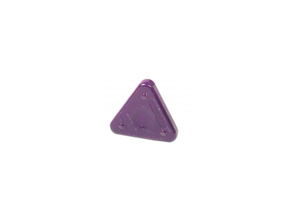 Voskovka trojboká Magic Triangle basic fialová