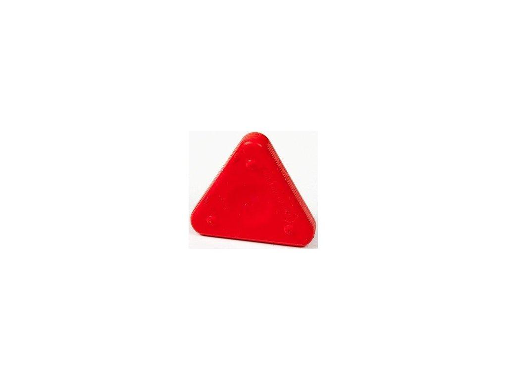 Voskovka trojboká Magic Triangle neon rumělková