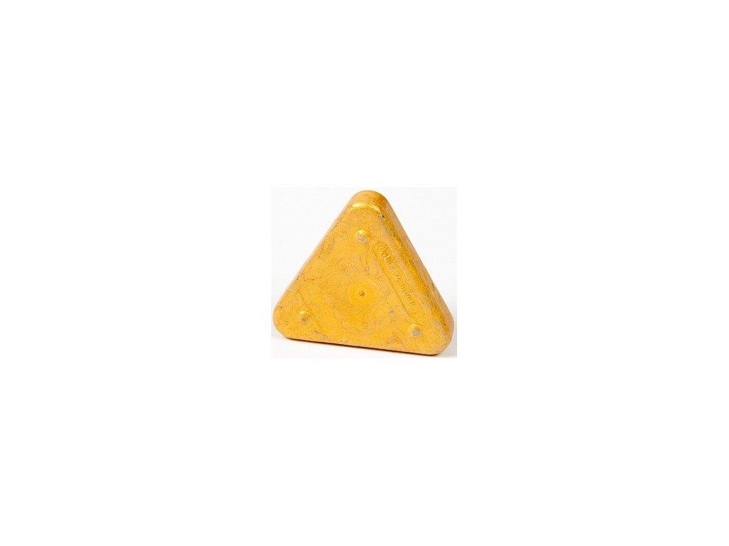 Voskovka trojboká Magic Triangle metalická zlatá