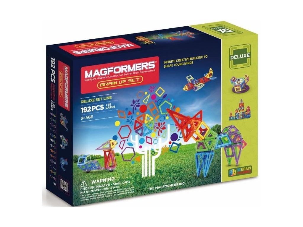 Magformers BRAIN UP