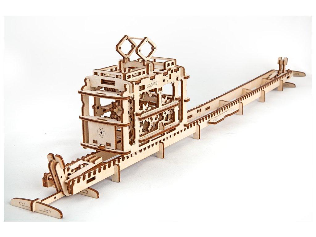 3D mechanické puzzle Tramvaj