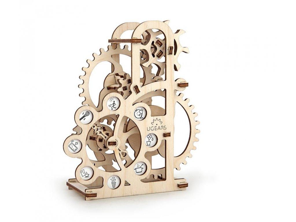 Ugears 3D mechanické puzzle Dynamometr 48 ks