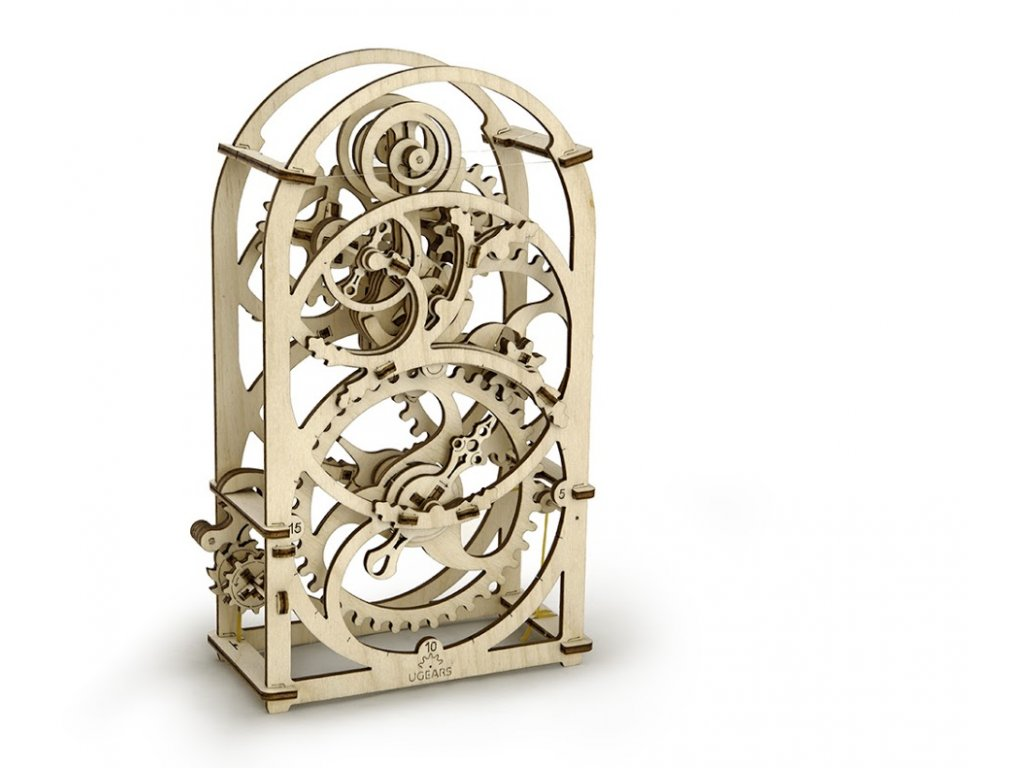 Ugears 3D mechanické puzzle Hodiny časovač (20min) 107 ks