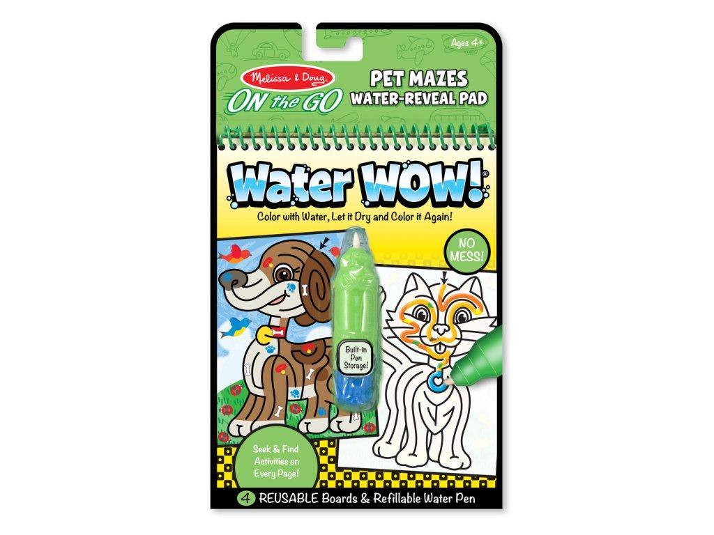 Vodní omalovánky - Zvířecí bludiště