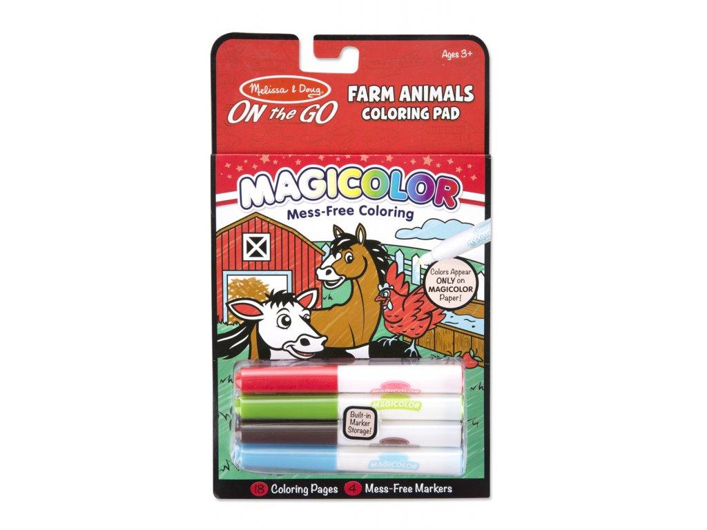 Omalovánky Magicolor - Farma