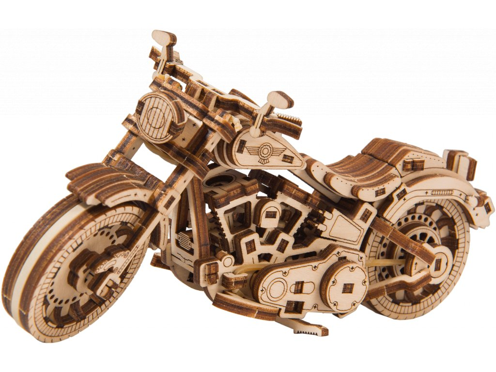 cruiser v twin motorbike woodencity wooden mechanical model set 04 1460x927