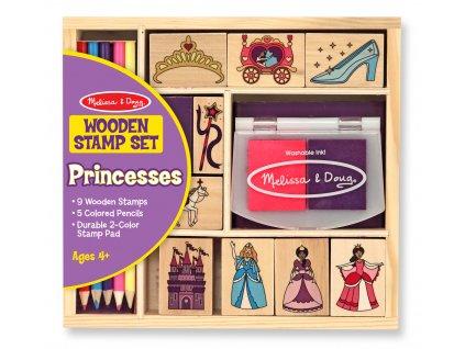Dřevěná razítka Princezny