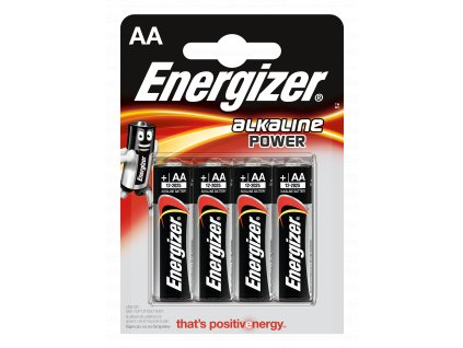 Energizer Alkaline Power AA 4ks