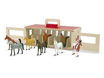 Box pro koně v kufříku