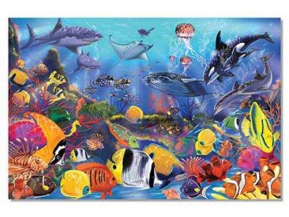 Podlahové puzzle Podmořský svět