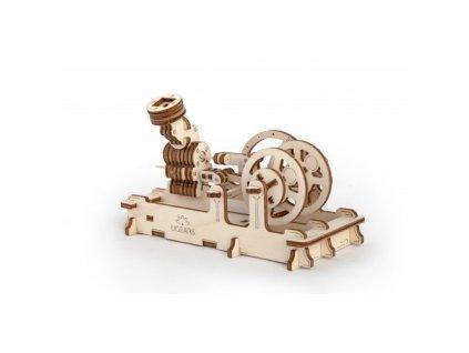 Ugears 3D mechanické puzzle Motor 81 ks