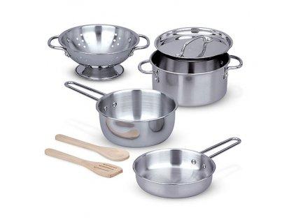 Nerezové kuchyňské nádobí