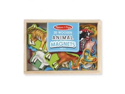Magnetická dřevěná zvířátka