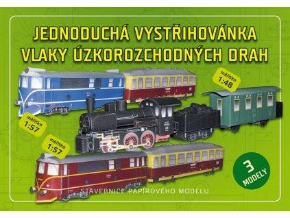vlaky úzkorozchodných drah