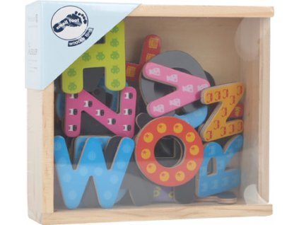 10732 Bunte Magnetbuchstaben Verpackung