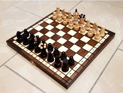 Masivní dřevěné šachy 31X31