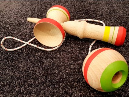 Vyhazovací kulička - Masivní dřevo (Hand Made)