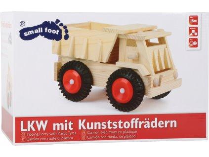 1087 Legler small foot LKW mit Kunststoffreifen Verpackung