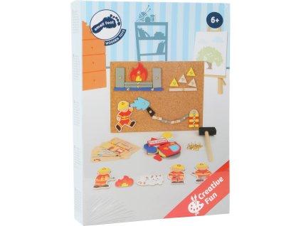 10581 Legler Haemmerchenspiel Feuerwehr Verpackung