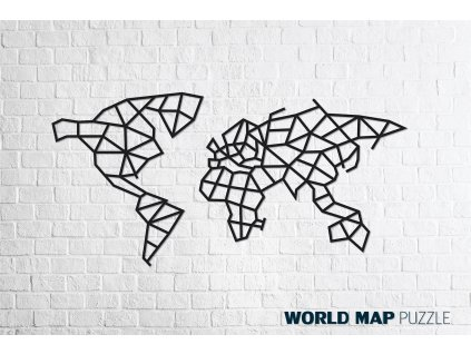 world map m