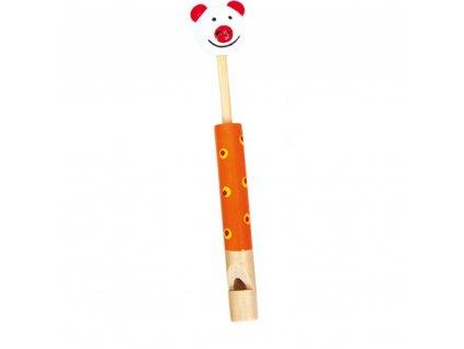 Dřevěná píšťalka - Prasátko