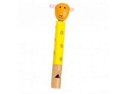 Dřevěná píšťalka - Ovečka