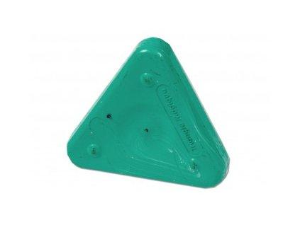 Voskovka trojboká Magic Triangle pastel tyrkysová