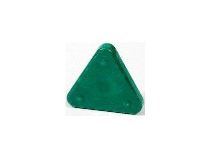 Voskovka trojboká Magic Triangle neon smaragdově zelená