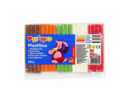 Plastelína Primo 10x 55g mix barev