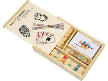 Hrací box 4 v 1