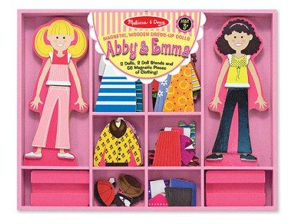 Magnetické oblékání Abby a Emma