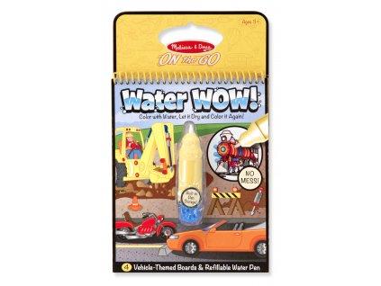 Vodní omalovánky - Dopravní prostředky